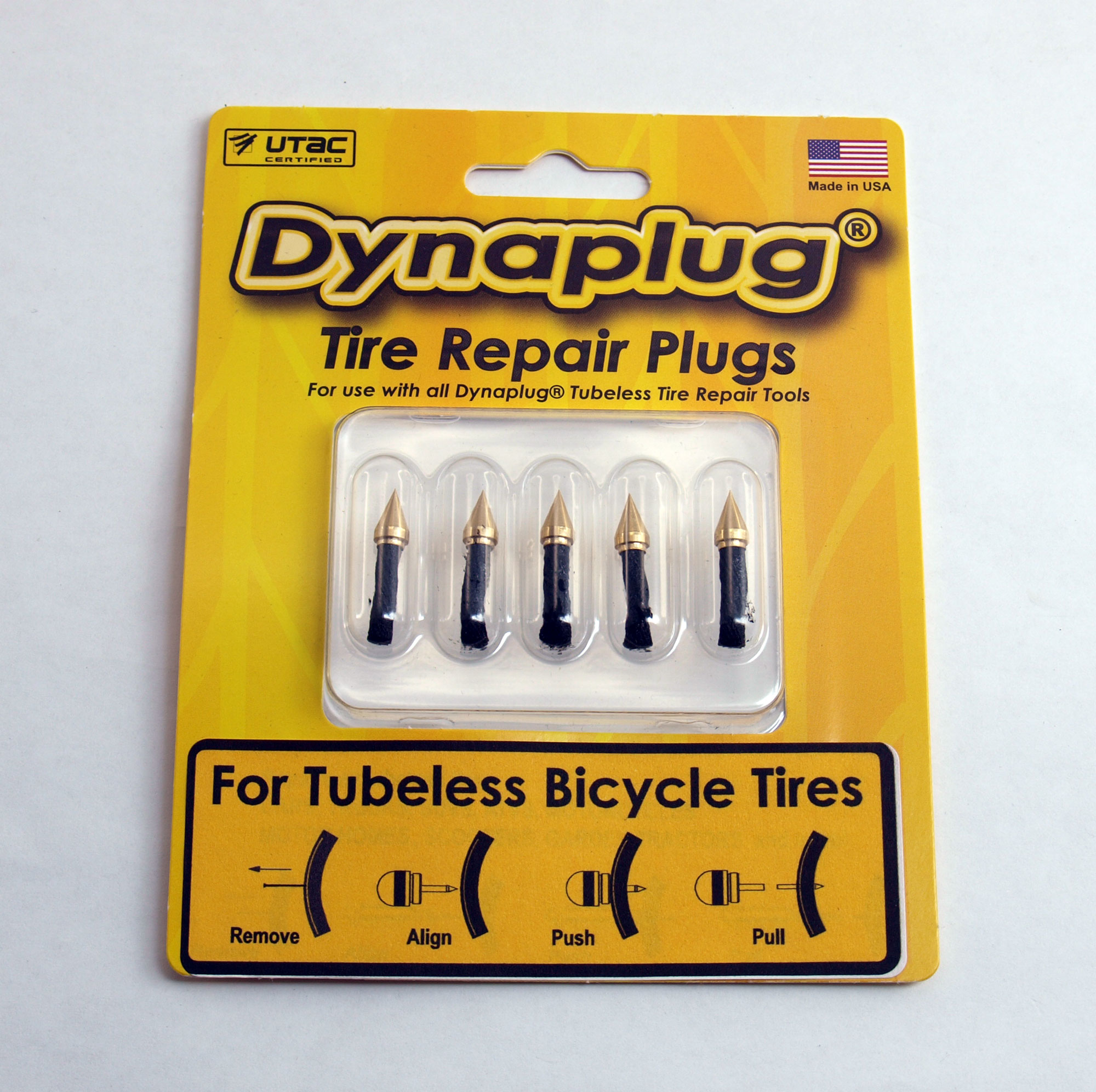 Dynaplug® Refill Pack for tubeless bicycle tyres