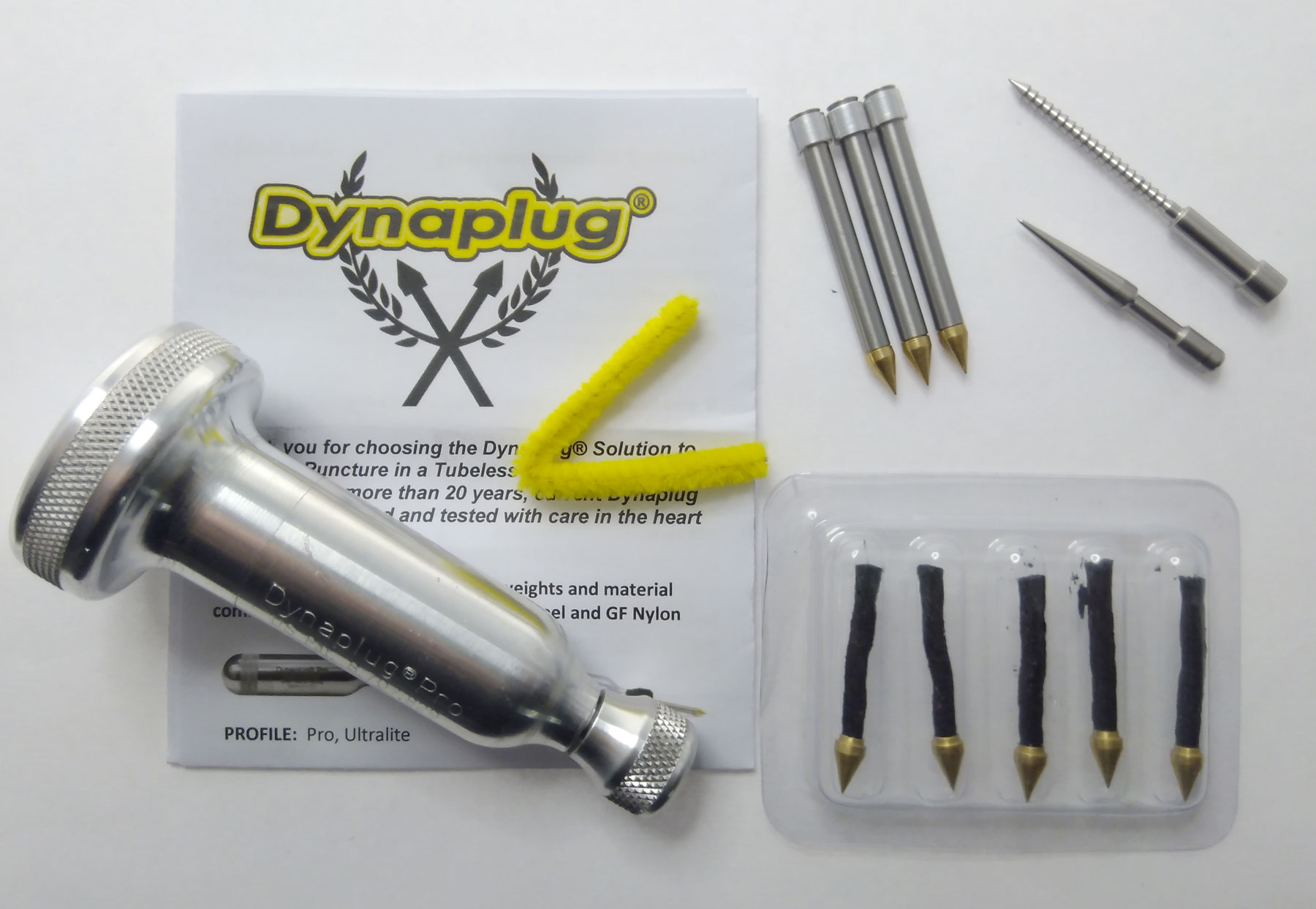 Dynaplug Pro Xtreme Tubeless Tyre Repair Kit - Stainless Steel